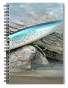 Ajs Baby Weakfish Saltwater Swimmer Fishing Lure Spiral Notebook