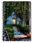 Ajsp Chapel Dry Brush Spiral Notebook