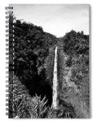 Akaka Falls - Bw Spiral Notebook