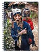 Akha Tribe II Spiral Notebook