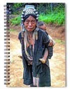 Akha Tribe Spiral Notebook