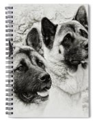 Akitas Spiral Notebook