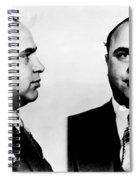 Al Capone Mug Shot Spiral Notebook