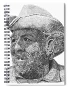 Cowboy Al Holman  Spiral Notebook
