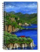 Al Mafi Coast Italy Spiral Notebook