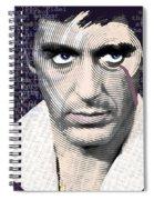 Al Pacino Again Spiral Notebook