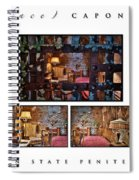 Al Scarface Capone's Cell Spiral Notebook