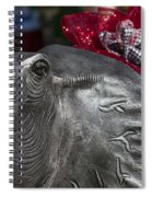 Alabama Crimson Tide Football Mascot Spiral Notebook