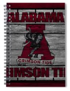 Alabama Crimson Tide Spiral Notebook