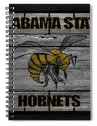 Alabama State Hornets Spiral Notebook