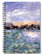 Alameda High Street Bridge  Spiral Notebook