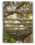 Alamo Walkway Spiral Notebook