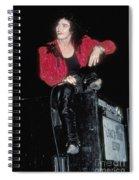 Alannah Myles Spiral Notebook
