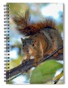 Alarmed  Spiral Notebook