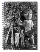 Alaska: Eskimo Grave Spiral Notebook