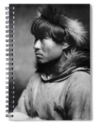 Alaska Eskimo Man, C1906 Spiral Notebook