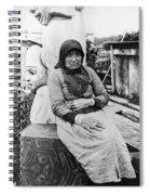 Alaska Eskimo Woman Spiral Notebook