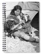 Alaska Eskimos, C1907 Spiral Notebook