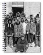 Alaska Eskimos, C1916 Spiral Notebook