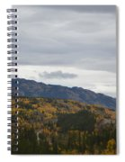 Alaska Highway At Lewes River Bridge  Spiral Notebook