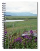 Alaska - Juneau Wetlands Spiral Notebook