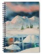 Alaska Panorama Spiral Notebook