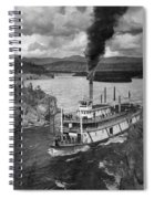 Alaska Steamboat, 1920 Spiral Notebook