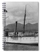 Alaska Steamboat Spiral Notebook
