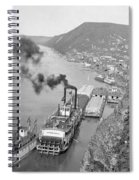 Alaska Waterfront Spiral Notebook