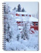 Alaskaland Train Station I Spiral Notebook