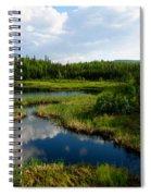 Alaskan Backyard Spiral Notebook