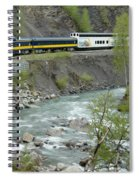 Alaskan Railroad Spiral Notebook