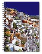 alba a Santorini Spiral Notebook