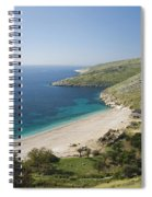 Albania Ionian Coast Spiral Notebook