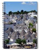 Alberobello's Trulli Spiral Notebook