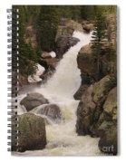 Alberta Falls Spiral Notebook