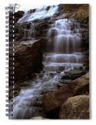 Albion Waterfalls 2 Spiral Notebook