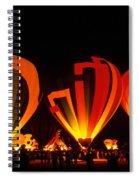 Albuquerque Balloon Festival Spiral Notebook