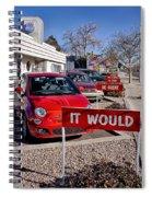 Albuquerque's Route 66 Diner Spiral Notebook