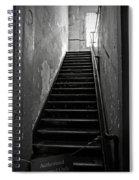 Alcatraz Hospital Stairs Spiral Notebook