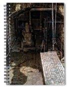 Alcatraz Island Morgue Spiral Notebook