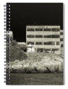 Alcatraz The Rock Sepia 2 Spiral Notebook