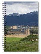 Alcazar Against The Mountains Spiral Notebook