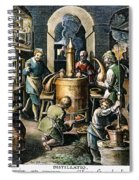 Alchemy: Laboratory Spiral Notebook