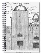 Alchemy: Tower Of Athanor Spiral Notebook
