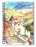 Alcoutim In Portugal 07 Spiral Notebook