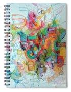 Alef Bais 12 Spiral Notebook