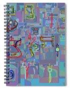 Alef Bais 1f Spiral Notebook