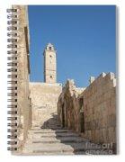 Aleppo Citadel In Syria Spiral Notebook