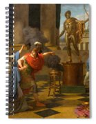 Alexander Consulting The Oracle Of Apollo Spiral Notebook